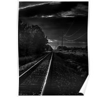 Train Tracks To Town Poster