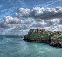 St Catherines Rock Tenby Pembrokeshire 5 by Steve Purnell