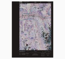 USGS Topo Map Washington State WA Scenic 20110428 TM Inverted Baby Tee