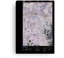 USGS Topo Map Washington State WA Scenic 20110428 TM Inverted Canvas Print