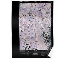 USGS Topo Map Washington State WA Scenic 20110428 TM Inverted Poster