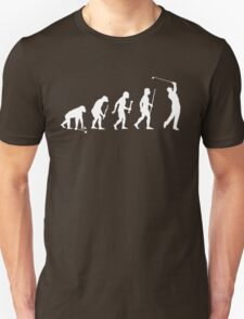 Funny Golf Evolution T Shirt T-Shirt