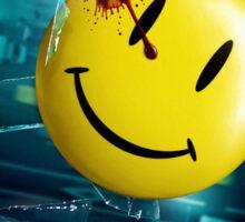 Watchmen's Smiley face Sticker