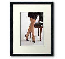 Glamour legs 12 Framed Print