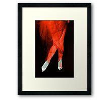 Glamour legs 16r Framed Print
