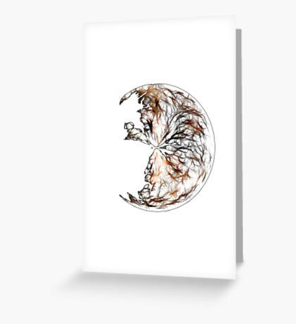 Broken Orb Greeting Card