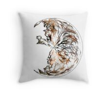 Broken Orb Throw Pillow