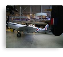 Spitfire F24 VN485'  former Hong Kong Auxiliary Air Force Canvas Print
