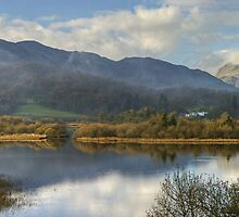 Elterwater and Lingmoor Fell by Jamie  Green