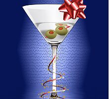 Christmas Martini iphone case by TJ Baccari Photography