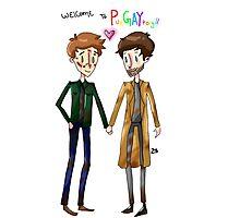 Welcome to PurGAYtory - Destiel Photographic Print
