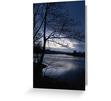 Hail Shower Coming Greeting Card