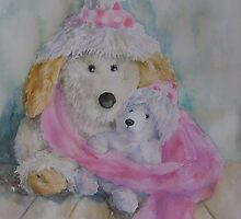 Winter soft toys  by MarijaJ