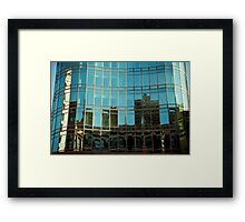 Blue City-11 Framed Print
