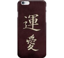 Luck & Love Red iPhone Case/Skin