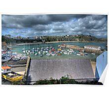 Tenby Harbour Pembrokeshire 10 Poster