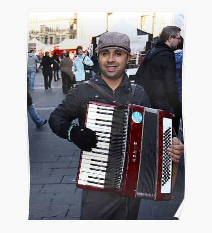 Music on the Street Poster