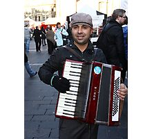 Music on the Street Photographic Print