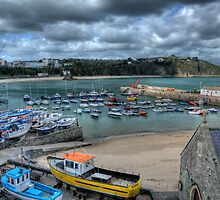 Tenby Harbour Pembrokeshire 11 by Steve Purnell