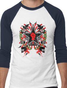 Revolution theme 2 Men's Baseball ¾ T-Shirt