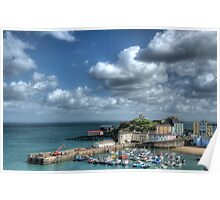 Tenby Harbour Pembrokeshire 12 Poster