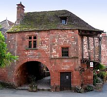 Collonges la Rouge, home of the Siren, France by photolumen