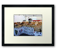 French Biscuits Framed Print