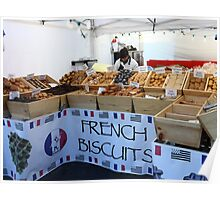 French Biscuits Poster