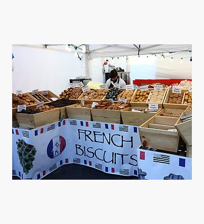 French Biscuits Photographic Print