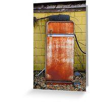Refrigerator Graveyard  Greeting Card