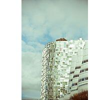 Blue City-6 Photographic Print