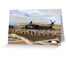 Humanitarian Mission  Greeting Card