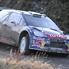 Sebastien Ogier/Julien Ingrassia - Citroen DS3 WRC - Wales Rally GB by MSport-Images