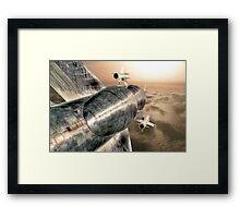 Top Gun UK - HDR Framed Print