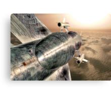 Top Gun UK - HDR Canvas Print
