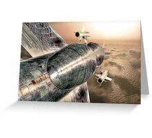 Top Gun UK - HDR Greeting Card