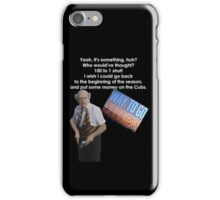 Back To The Future 2 Cubs Win World Series iPhone Case/Skin