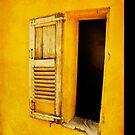 yellow shutter iPhone case by Sonia de Macedo-Stewart