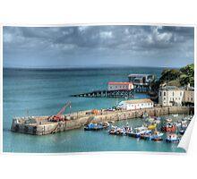 Tenby Harbour Pembrokeshire 13 Poster