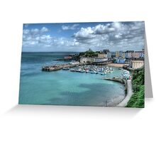 Tenby Harbour Pembrokeshire 14 Greeting Card