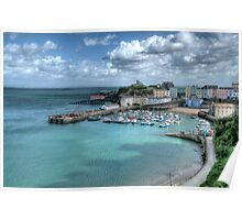 Tenby Harbour Pembrokeshire 14 Poster