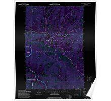 USGS Topo Map Washington State WA Stentz Spring 244039 1995 24000 Inverted Poster