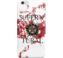 Supernatural - blood iPhone Case/Skin