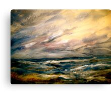Winter and Rough Weather Canvas Print