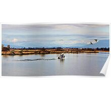 Sunday Afternoon on the Fraser River Poster