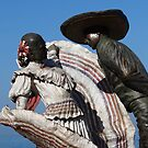 Charro dancing with a lady - Charro bailando con su dama, Puerto Vallarta, Mexico by PtoVallartaMex