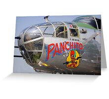 PANCHITO Greeting Card