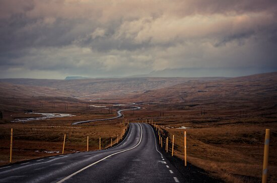 Road to where? by Chloé Ophelia Gorbulew