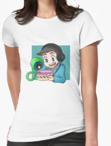 Jacksepticeye - CAKE Womens Fitted T-Shirt