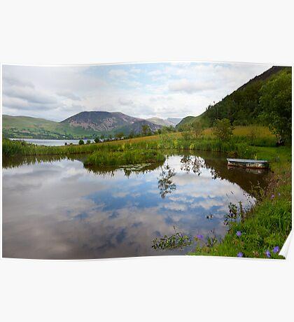Cloud Pond Near Ennerdale, Cumbria Poster